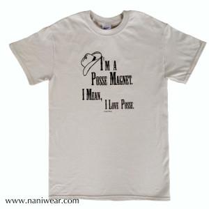 Supernatural Inspired T-Shirt: Posse Magnet