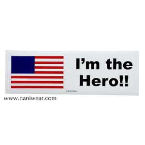 Hetalia Inspired Bumper Sticker: America
