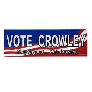 Supernatural Bumper Sticker Vote Crowley