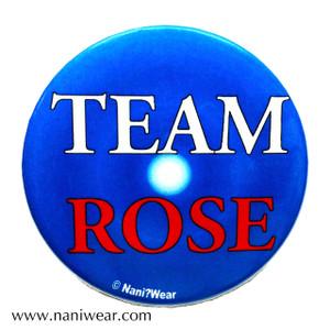 Rose Tyler Inspired Button: Team Rose