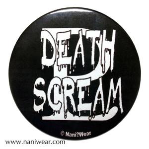 Sailor Moon Inspired Button: Death Scream