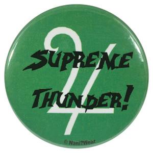 Sailor Moon Button Sailor Jupiter Supreme Thunder