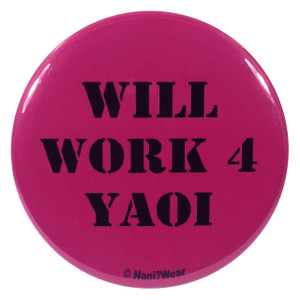 Yaoi Anime Button Will Work 4 Yaoi