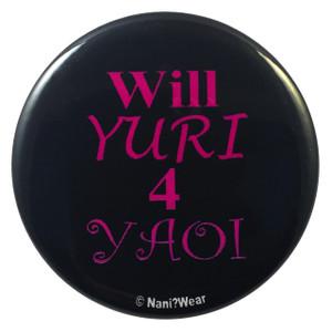 Yaoi Button: Will Yuri for Yaoi