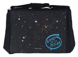 Doctor Who Inspired Large Messenger/Laptop Bag: Bigger Inside