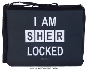 Sherlock Large Messenger/Laptop Bag: I am SHERlocked