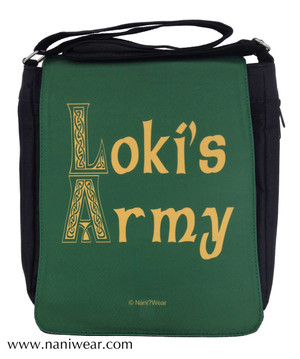 Loki Medium Messenger Bag: Loki's Army