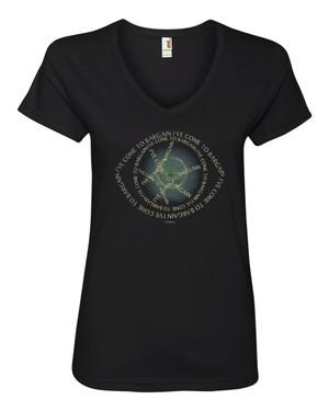 Doctor Strange Women's V-Neck Fitted T-Shirt I've Come to Bargain
