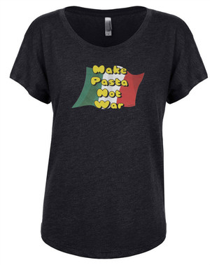 Hetalia Women's Dolman T-Shirt Make Pasta Not War
