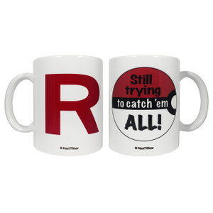 Pokemon Double-Sided 11oz Mug Team R-Still Trying to Catch 'Em All