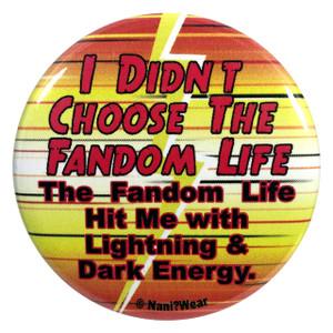 The Flash Button I Didn't Choose the Fandom Life