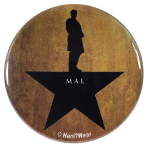 Firefly Captain Mal Reynolds Hamilton Mash-Up 2.25 Inch Geek Button
