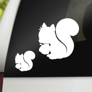 Supernatural Geek Vinyl Car Decal Squirrel Dean Winchester