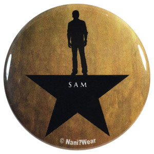 Supernatural Sam Winchester Hamilton 2.25 Inch Geek Button