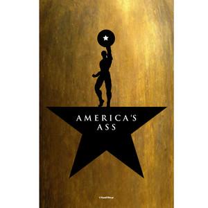 Avengers Endgame Captain America Art Print America's Ass