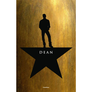 Dean Winchester Supernatural Hamilton Mash-Up Art Print