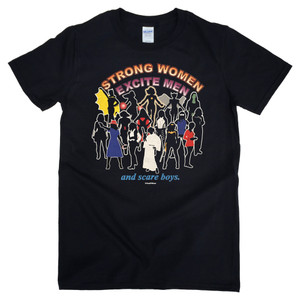 Women of Science Fiction Geek T-Shirt