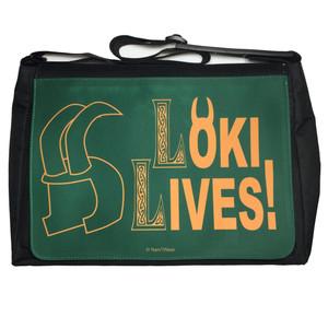Loki Avengers Inspired Large Messenger/Laptop Bag Loki Lives!