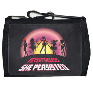 Anime Magical Girls Messenger/Laptop Bag Nevertheless She Persisted