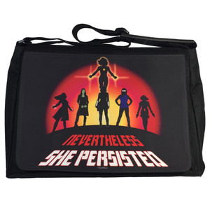 Marvel Super-Heroines Messenger/Laptop Bag Nevertheless She Persisted