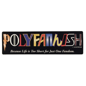 Polyfannish Sticker