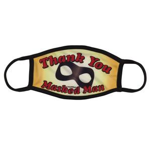 Lenny Bruce Thank You Masked Man Face Mask