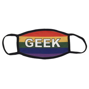 LGBTQA Gay Pride Flag Face Mask