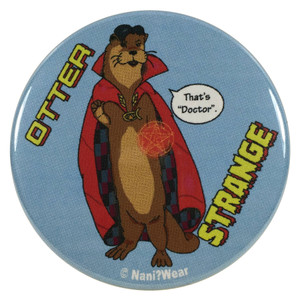 Doctor Strange Sherlock Benedict Cumberbatch Button Doctor Otter Strange