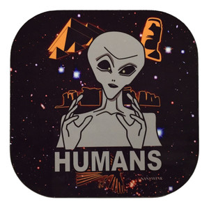 Ancient Aliens Humans Geek Coasters
