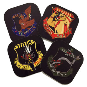 Harry Potter Hogwarts Geek Coasters Rockwarts