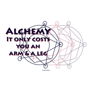 Fullmetal Alchemist Art Print Alchemy Only Costs Arm & Leg