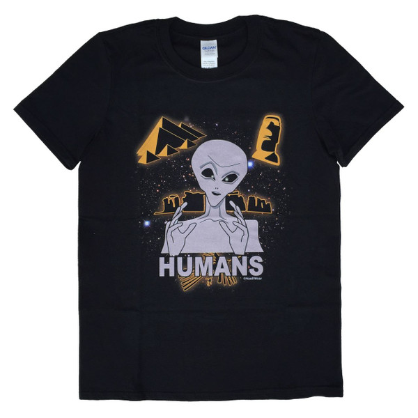 Aliens of the Ancient World T-Shirt: Humans