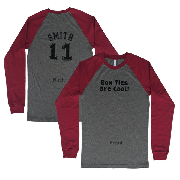 Doctor Who Inspired 11th Doctor Double-sided Baseball Jersey