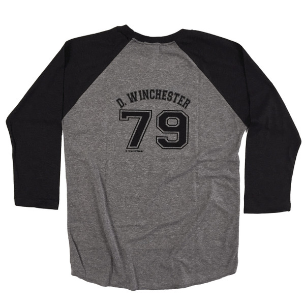 Supernatural Double-sided Baseball Jersey Dean Winchester