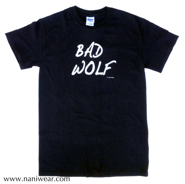 Doctor Who Inspired T-Shirt: Bad Wolf