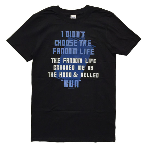 Doctor Who Inspired T-Shirt: Fandom Life