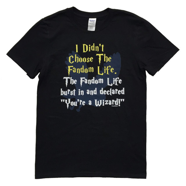 Harry Potter Inspired 100% ringspun geek t-thirt: Fandom Life