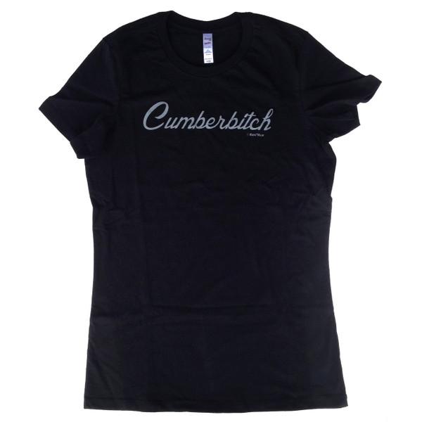 Benedict Cumberbatch Sherlock Juniors Fitted T-Shirt: Cumberbitch