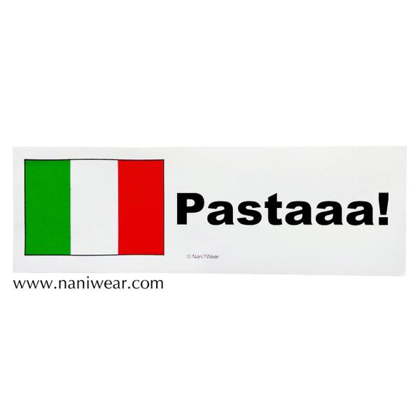 Hetalia Inspired Bumper Sticker: Italy