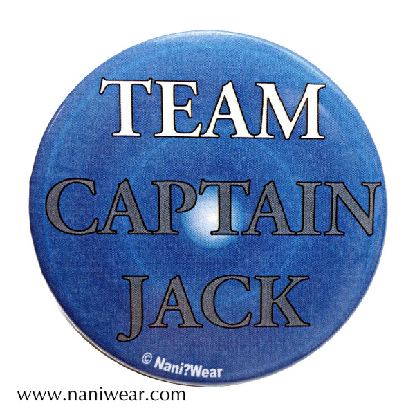 Captain Jack Inspired Button: Team Captain Jack