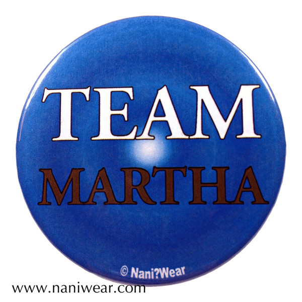 Companion Button: Team Martha