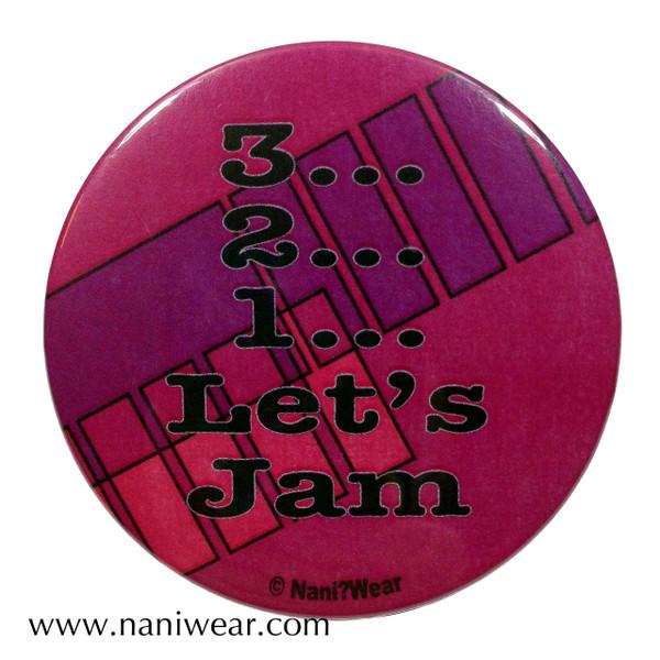 Cowboy Bebop Inspired Button: 3,2,1... Let's Jam
