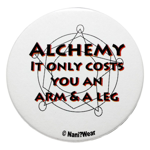 Fullmetal Alchemist Inspired Button Alchemy Costs You an Arm & a Leg