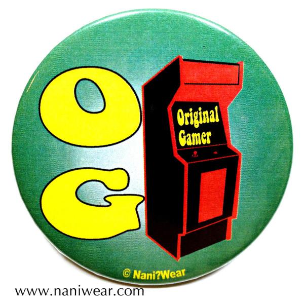 Gamer Button: Original Gamer