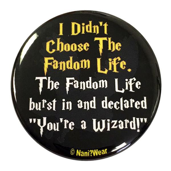 Harry Potter Inspired Button: Fandom Life