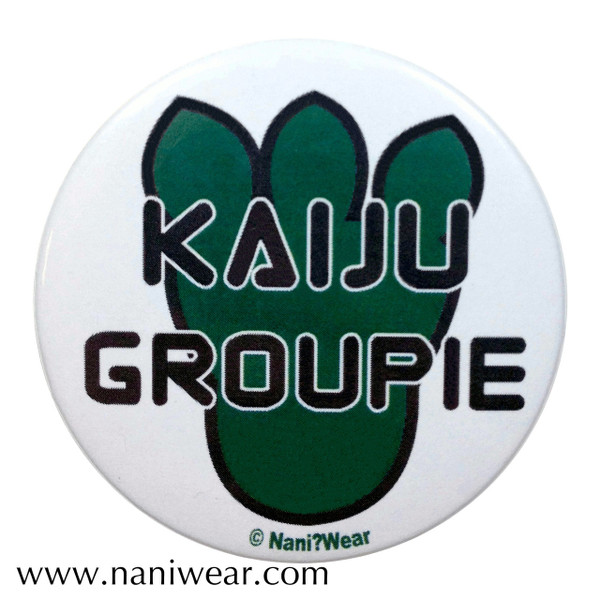 Pacific Rim Inspired Button: Kaiju Groupie