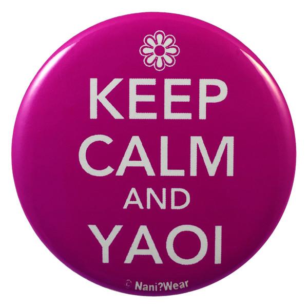 Yaoi Button: Keep Calm and Yaoi