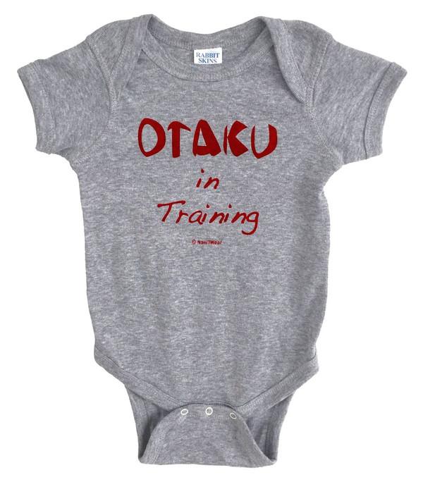 Anime Baby Onesie Otaku in Training