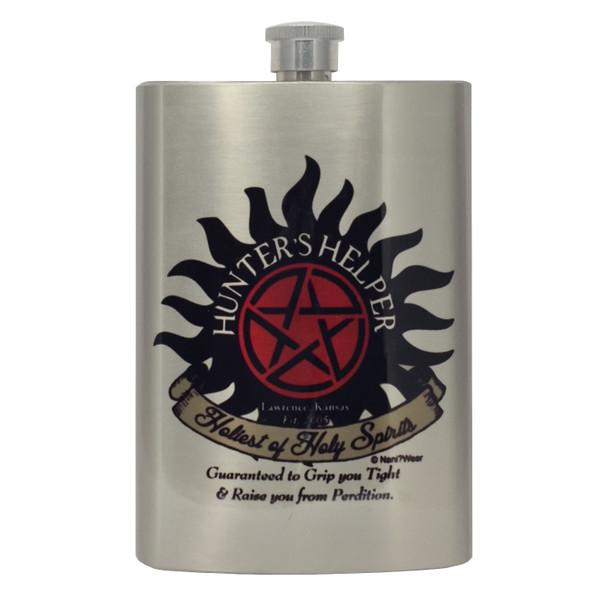 Supernatural Flask 15 Years Hunter's Helper Redesign