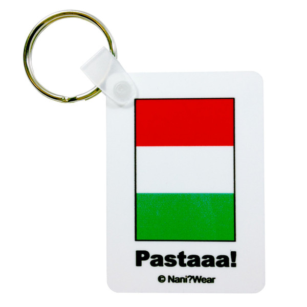 Hetalia Inspired Keychain: Italy, Pastaaaa!